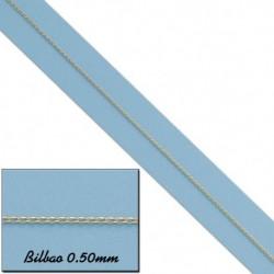 CADENA BILBAO ORO18KL 0.50MM