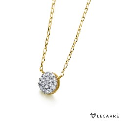 Gargantilla Bicolor y Diamantes