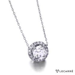 Gargantilla roseta diamantes