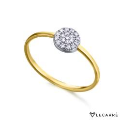 Anillo Roseta Diamantes