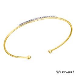 Pulsera Oro y Diamantes