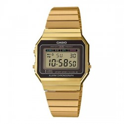 RELOJ CASIO DIGITAL RETRO A-700WEG-9AEF