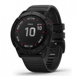Reloj Garmin Fénix 6X Pro Negro con Correa Negra
