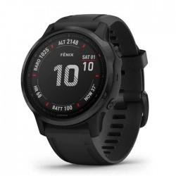 Reloj Garmin Fénix 6S Pro Negro con Correa Negra