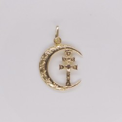 Medalla Cruz Caravaca Oro 2676K18
