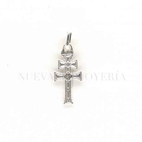 Cruz Caravaca Plata Relieve 4231PL