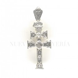 Cruz Caravaca Plata Relieve 1769PL