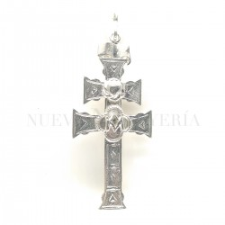 Cruz Caravaca Plata Relieve 3179PL
