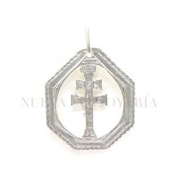 Medalla Cruz Caravaca Plata 2898PL