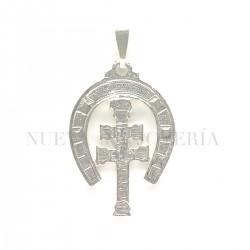 Medalla Cruz Caravaca Plata 2900PL