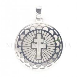 Medalla Cruz Caravaca Plata 4279PL