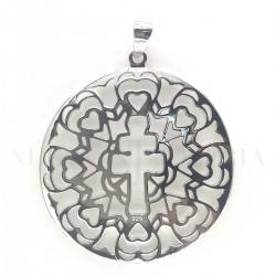 Medalla Cruz Caravaca Plata 4277PL