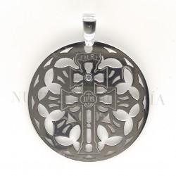 Medalla Cruz Caravaca Plata 754PL