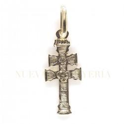 Cruz Caravaca Oro Plana 1646K18
