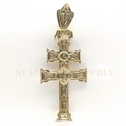 Cruz Caravaca Oro Relieve 1527K18