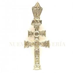 Cruz Caravaca Oro Relieve 1526K18