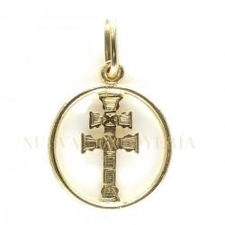 Medalla Cruz Caravaca Oro 139K18