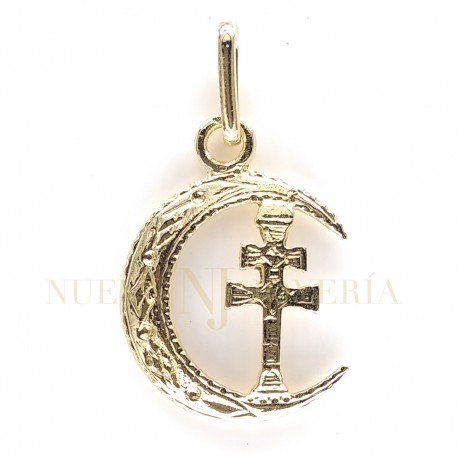 Medalla Cruz Caravaca Oro 1969K18