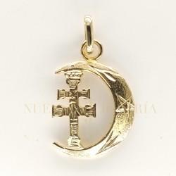 Medalla Cruz Caravaca Oro 1970K18