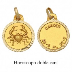 HOROSCOPO ORO 18KL MEDIDA 16MM