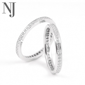 Si buscas una alianza o anillo de compromiso en Nueva Joyería los tenemos todos!! Te costará decidirte • • • #alianzas #alianzasboda #anillocompromiso #anillodiamantes #tujoyero #joyeriadeconfianza #bodas2020